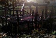 Đám cháy thiêu hủy ngôi nhà Lang cuối cùng của người Mường