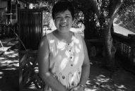 Mỗi tuần  gặp một người:  Họa sĩ Trần Thị Thu tặng tranh phục dựng nhà Lang:  Nhà Lang đang trở thành di sản chung